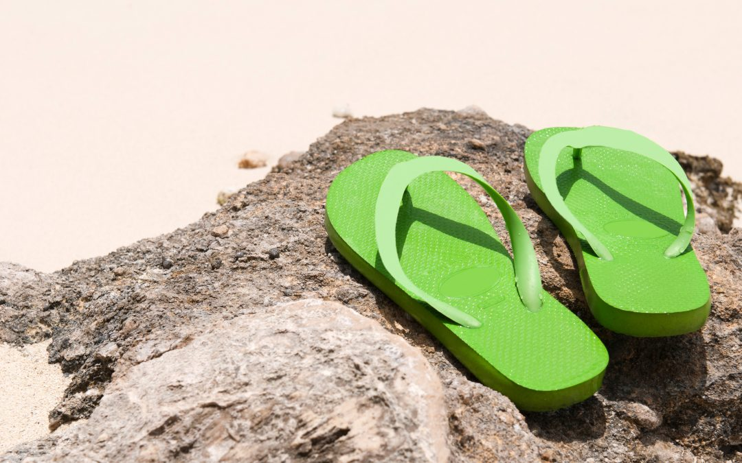 4 Problems with Wearing Flip-Flops